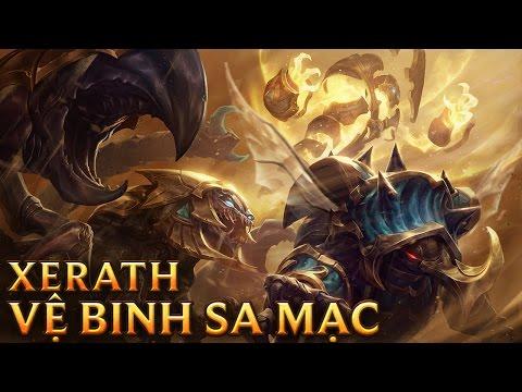 Xerath Vệ Binh Sa Mạc - Guardian of the Sands Xerath