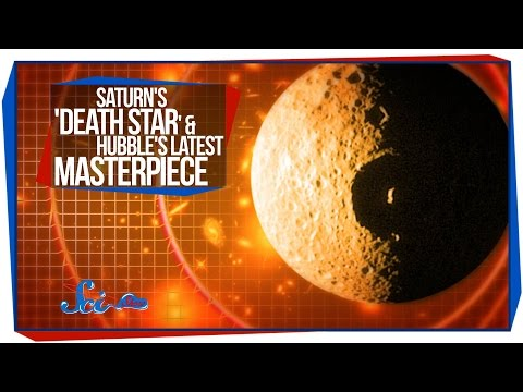 latest - SciShow Space News takes you to the solar system's own Death Star -- Saturn's moon Mimas, where something mysterious is going on. Plus, we share a stunning new photo from the Hubble Space...