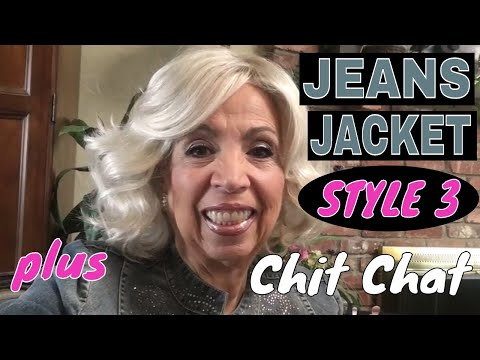 Jeans Jacket Fashion, Style Three - And A Chit Chat
