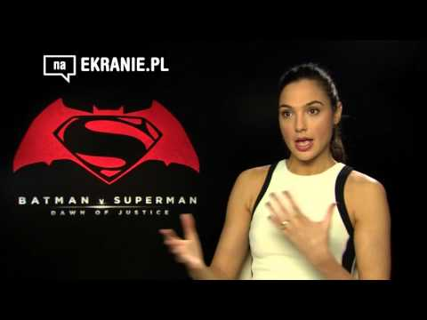 Wywiad z Gal Gadot - Wonder Woman w filmie Batman v Superman: Świt Sprawiedliwości