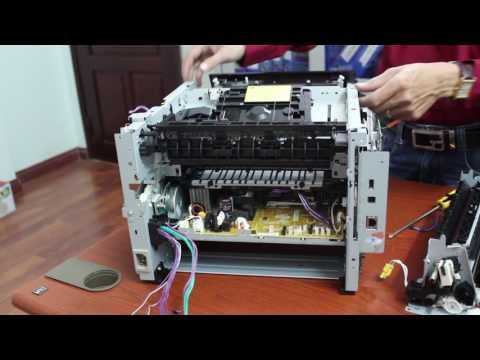 Video hướng dẫn tháo lắp máy in canon lbp251dw