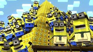 Minecraft   Lucky Block Boss Challenge - Minions! (Atlantis Roleplay)