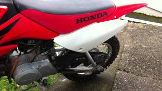 8. Honda 2007 CRF70f 4 Stroke Offroad motoX bike for sale on ebay. Ebay item No:250941361718