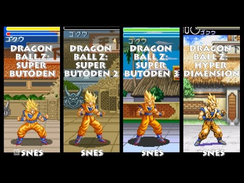 Dragon Ball Z GOKU Graphic Evolution 1993-1996 (Super Nintendo) SNES