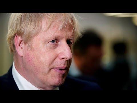 Boris Johnson en visite dans les terres arrachées aux Travaillistes