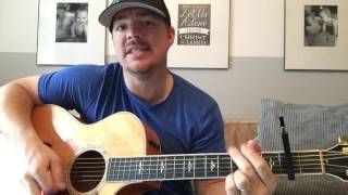 Think A Little Less | Michael Ray | Beginner Guitar Lesson Video