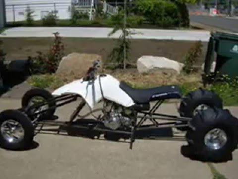 atv drag racers     banshee  450r  250r raptor ds