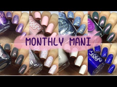MONTHLY MANIS // NAIL OF THE MONTH -- MAY 2018