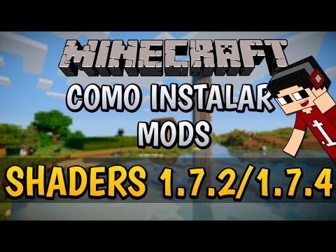 Minecraft 1.7.2/1.7.4/1.7.5 | Como instalar GLSL Shaders MOD - [Español (720p)] (видео)