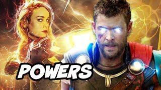 Video Avengers 4 Captain Marvel Powers Explained By Kevin Feige MP3, 3GP, MP4, WEBM, AVI, FLV Oktober 2018