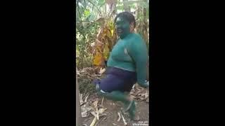 Viral Hulk goyang Dangdut