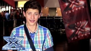 Yes, I Made It! Christian Wossilek - THE X FACTOR USA 2013