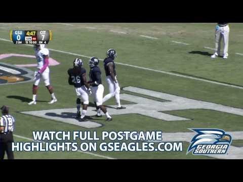 Jerick McKinnon 63-yard touchdown vs The Citadel 2013 video.