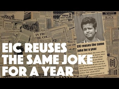 EIC reuses the same joke for a year | Comedy Hunt