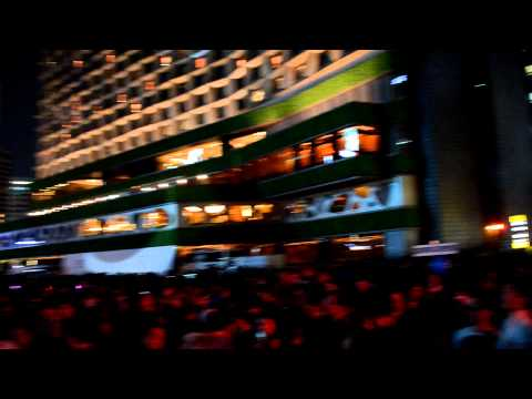 Psy Gangnam Style Concert 4.10.12 Seoul Plaza, Korea