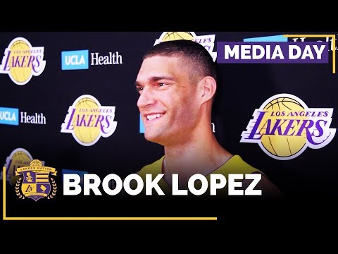 Video: Lakers Media Day: Brook Lopez (FULL INTERVIEW)