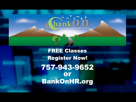BankOn Norfolk: Free Classes Begin In April