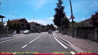 Grado Italy  city pictures gallery : Dashcam - Tarvisio, Italy to Grado, Italy - 25 May 2015