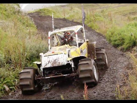 Formula Offroad HILL CLIMBs – Winner Olafur, Refurinn in Iceland!