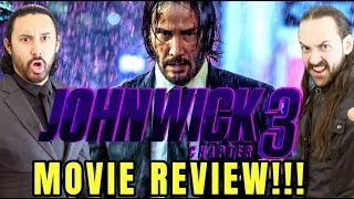 JOHN WICK: CHAPTER 3 - Parabellum - MOVIE REVIEW!!! by The Reel Rejects