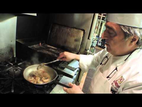 Watch Chef Andrea Apuzzo prepare Shrimp Alla Caprese