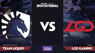 Team Liquid против LGD Gaming, Вторая карта, Grand Final SL i-League Invitational S4