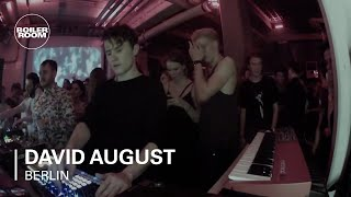 David August Boiler Room Berlin Live Set Video