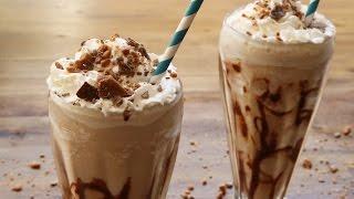 Cóctel frappuccino de chocolate con vodka, Kahlúa y Baileys (mudslide)