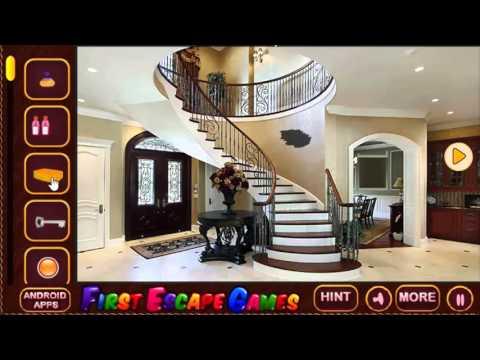 Luxury Mansion Escape walkthrough-firstescapegames | Escapegames ...