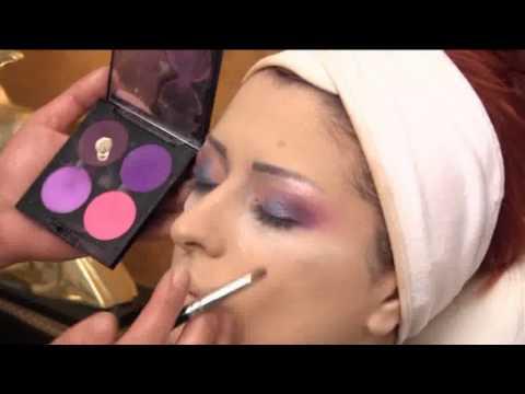 Maquillage en direct par Katia Coiffure & Créations - Edition 2013