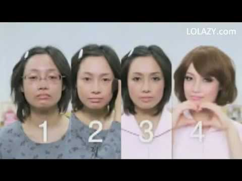 現在的化妝技巧好到可以改變一個人,但是會不會差太多了!