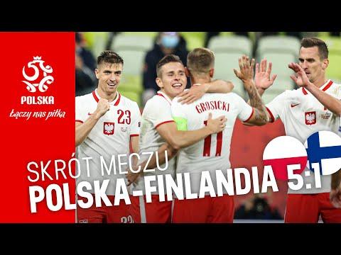OBSZERNY SKRÓT meczu POLSKA – FINLANDIA (5:1)