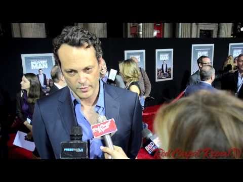 Vince Vaughn at the World Premiere of Delivery Man #DeliveryManFilm