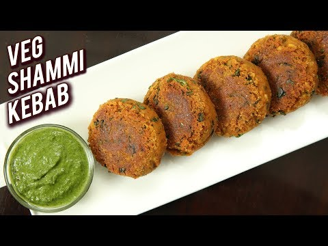 Shami Kabab Recipe – How To Make Veg Shammi Kebab – Veg Starter Recipe – Ruchi