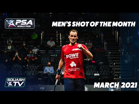 Squash: Shot of the Month - March 2021 - Men