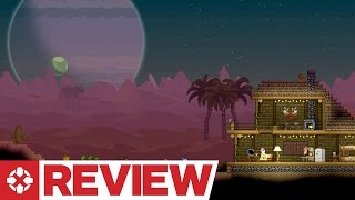 Starbound is a Terraria-like that shoots for the stars and lands squarely among them. Reviewed on PC.