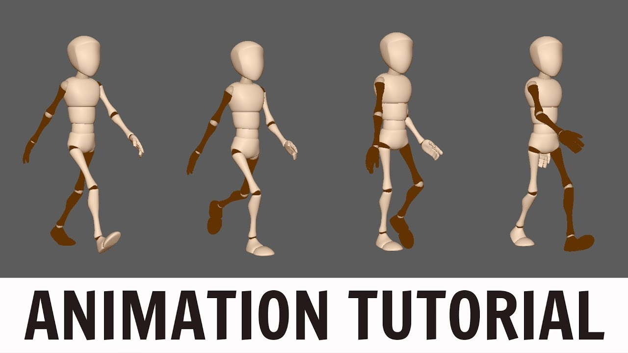 creating walking 3d animations maya tutorial