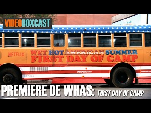 Premiere de Wet Hot American Summer: First Day on Camp