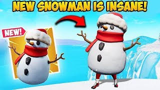 *NEW* SNEAKY SNOWMAN IS OP! - Fortnite Funny Fails and WTF Moments! #448