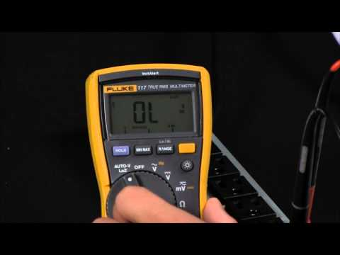 How To  Determine If Voltage Is Real Or a Ghost Voltage Using your Fluke Digital Multimeter