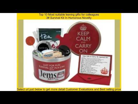 Top 10 Most suitable leaving gifts for colleagues