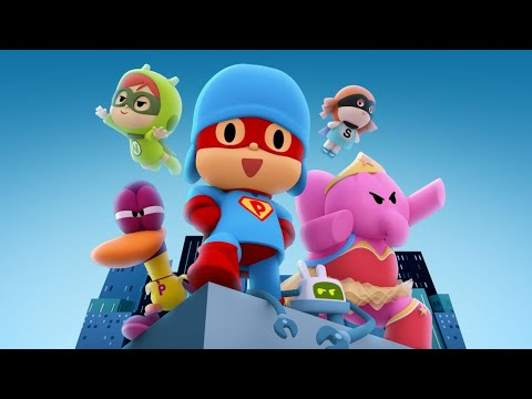POCOYO THE MOVIE - Pocoyo and The League of Extraordinary Super Friends | CARTOON MOVIES for KIDS