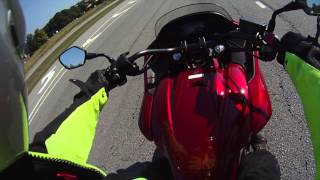 6. Moto Apex Reviews Honda CTX DCT 2014 with ABS