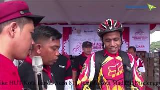 Funbike HUT Kota Banda Aceh ke-811