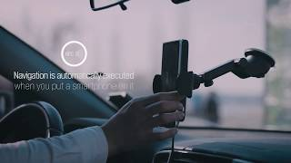 X-CAN, a vehicle Wireless charger, Autorun navigation app youtube video
