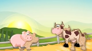 Farm Animals Puzzle Kids Game YouTube video