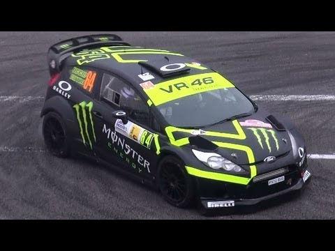Monza Rally Show 2012 - Shakedown - Show & Pure Sound [HD]
