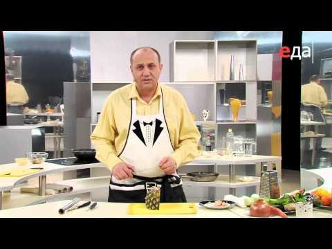 Салат из курицы с ананасом - DomaVideo.Ru