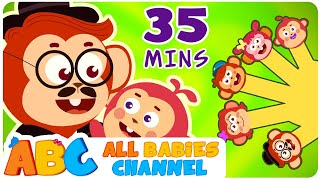 Finger Family | Wheels On The Bus | Popular Nursery Rhymes Collection | All Babies Channel
