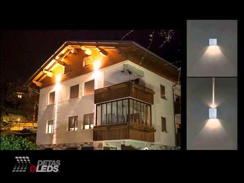 Illuminazione LED per Esterni: Lampade da incasso e da parete (2014)